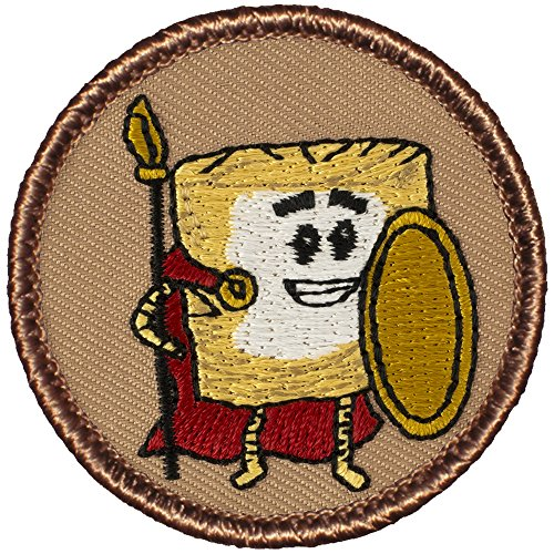 mini-wheat-warrior-patrol-patch-2-diameter-round-embroidered-patch