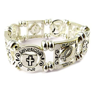 Bracelet Of French Touch Cunegonde Silvery Amazon Co Uk Jewellery