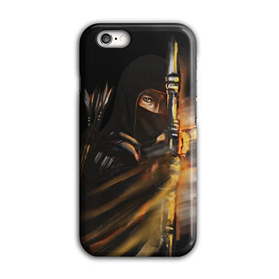 Amazon.com: Wellcoda Warrior Ninja Fantasy Dark 3D iPhone 6 ...