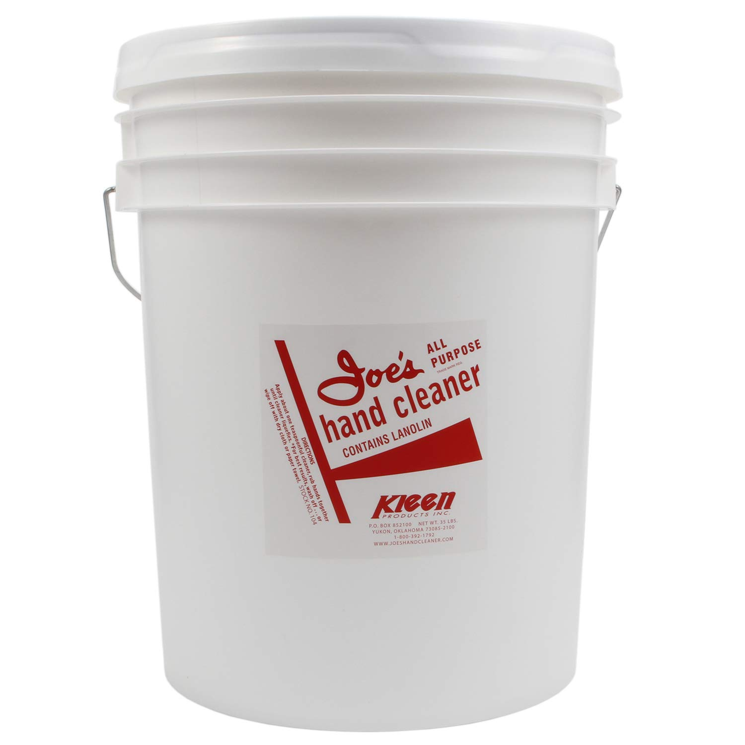 JOE'S HAND CLEANER 5Gal.Plastic Pail Hand Cleaner Joes Racing Products 104