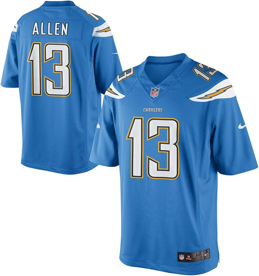 NFL Los Angeles Chargers #13 Keenan Allen Youth Game Alternate Light Blue Jersey
