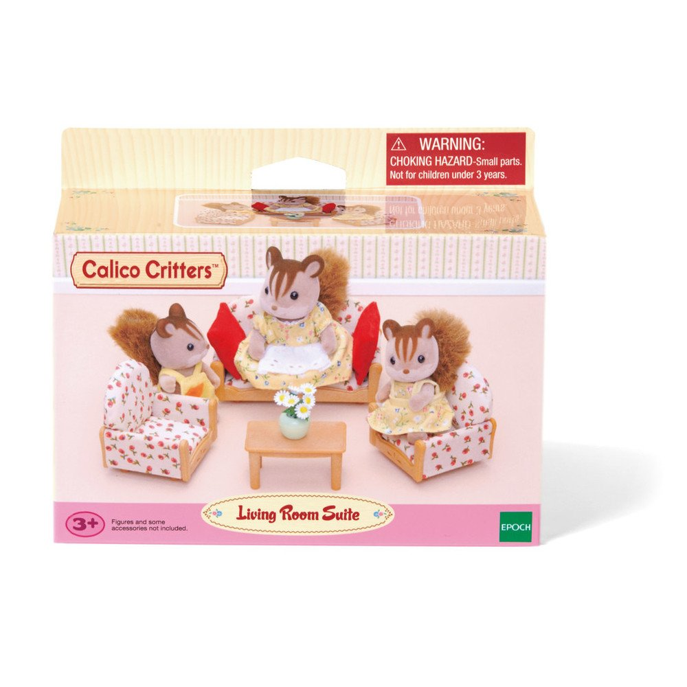 amazon com calico critters living room suite toys u0026 games