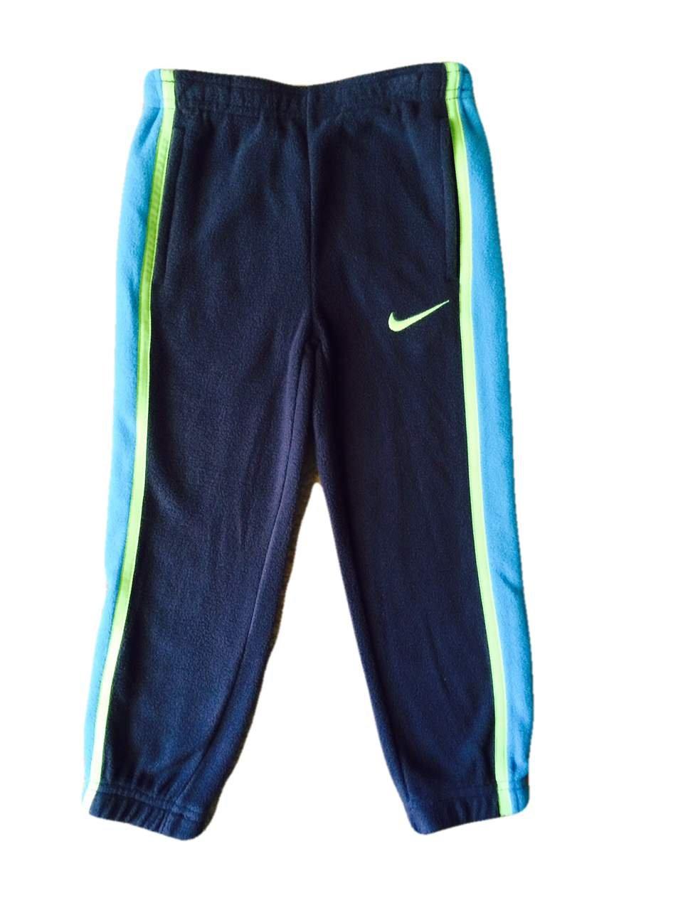 0a9c55dc8ff7 Amazon.com  Nike Boys Sweat Pants Fleece - Grey Turquoise Yellow - 3T   Sports   Outdoors