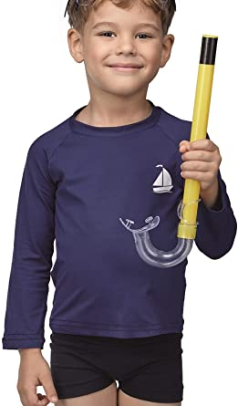 Blusa Infantil Manga Longa UV