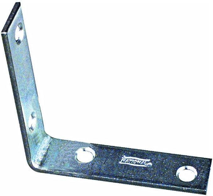 Stanley National N113-159 Brace Corner Stl 1.5X5//8In Glv 1-1//2 L x 5//8 W