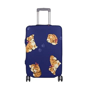 ALAZA Garra Lindo Perro Equipaje La Tapa Adapta a 18-20 Pulgadas Maleta de Viaje Spandex: Amazon.es: Equipaje