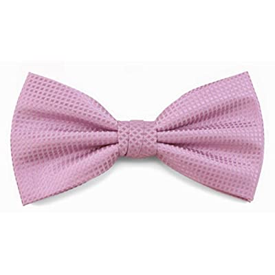 Absolute Stores Boys Lavender Woven Like Band Bow Tie