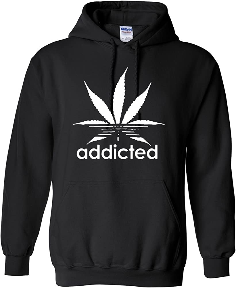 Funny Spin on Weed 420 Pot Leaf Hoodie Marijuana Gift