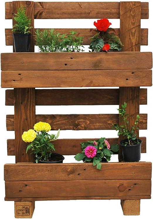 UG6 maceta de jardín de desechables, y palets: Amazon.es: Hogar