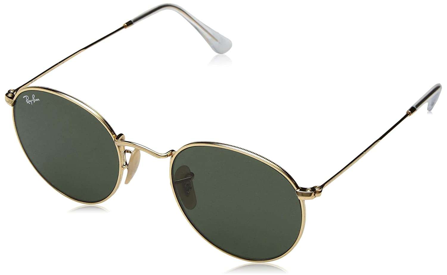 b3d4103590 Amazon.com  Ray-Ban Men s Metal Man Sunglass Round
