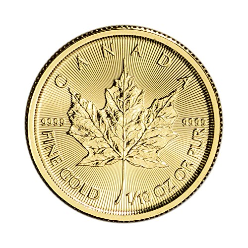 2017 CA Canada Gold Maple Leaf (1/10 oz) $5 Brilliant Uncirculated Royal Canadian Mint