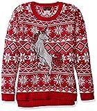 Blizzard Bay Womens Glitter Unicorn Ugly Christmas Sweater