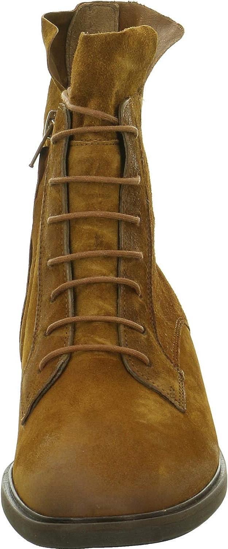 Paul Green Stivali con Lacci Cognac