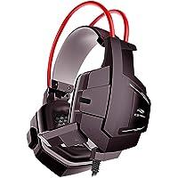 Headset Gamer C3Tech PH-G11BK Sparrow Preto - Com Microfone Driver de 40mm Conector P2 3.5mm Áudio Stereo