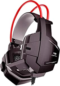 Headset Gamer C3Tech Preto Sparrow - PH-G11BK