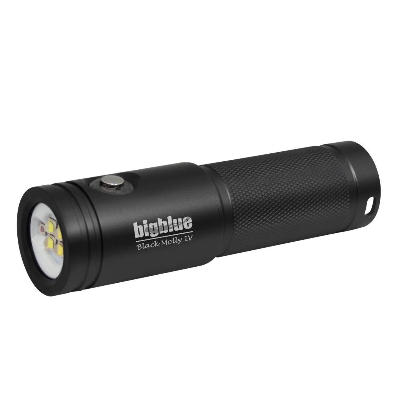 BigBlue AL1800XWP-II 1800 Lumen Tri-Color Dive Video Light (Black)
