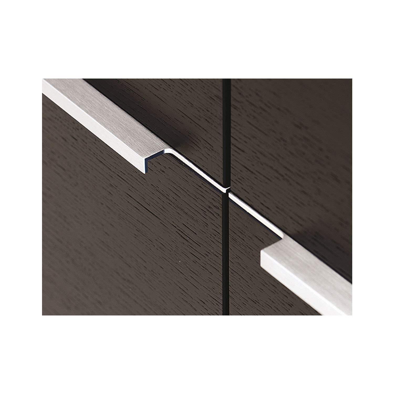 Gedotec AG10 Poignée de meuble rectangulaire en aluminium pour