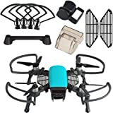 KUUQA 5 Pcs Accessories Kits Compatible with Spark, Including 2 in 1 Propeller Guard with Foldable Landing Gear, Gimbal…