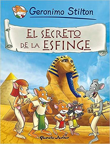 Comic Geronimo Stilton 3. El secreto de la esfinge: Geronimo Stilton: 9788408087328: Amazon.com: Books