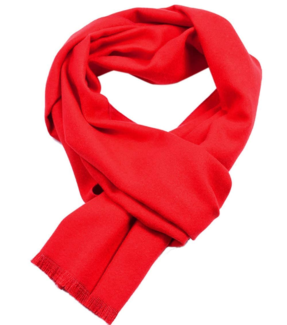 UMEE Sciarpa Cachemire Griglia Morbido Sciarpa Inverno In Viaggio Colore Puro
