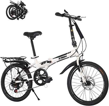 STRTG Bikes Bicicleta Plegable, Bicicleta Plegable Urbana Micro Bike, 20 Pulgadas, Bicicletas Plegable, para Adulto, Unisex Plegable para Transporte en Coche, autobús,: Amazon.es: Deportes y aire libre