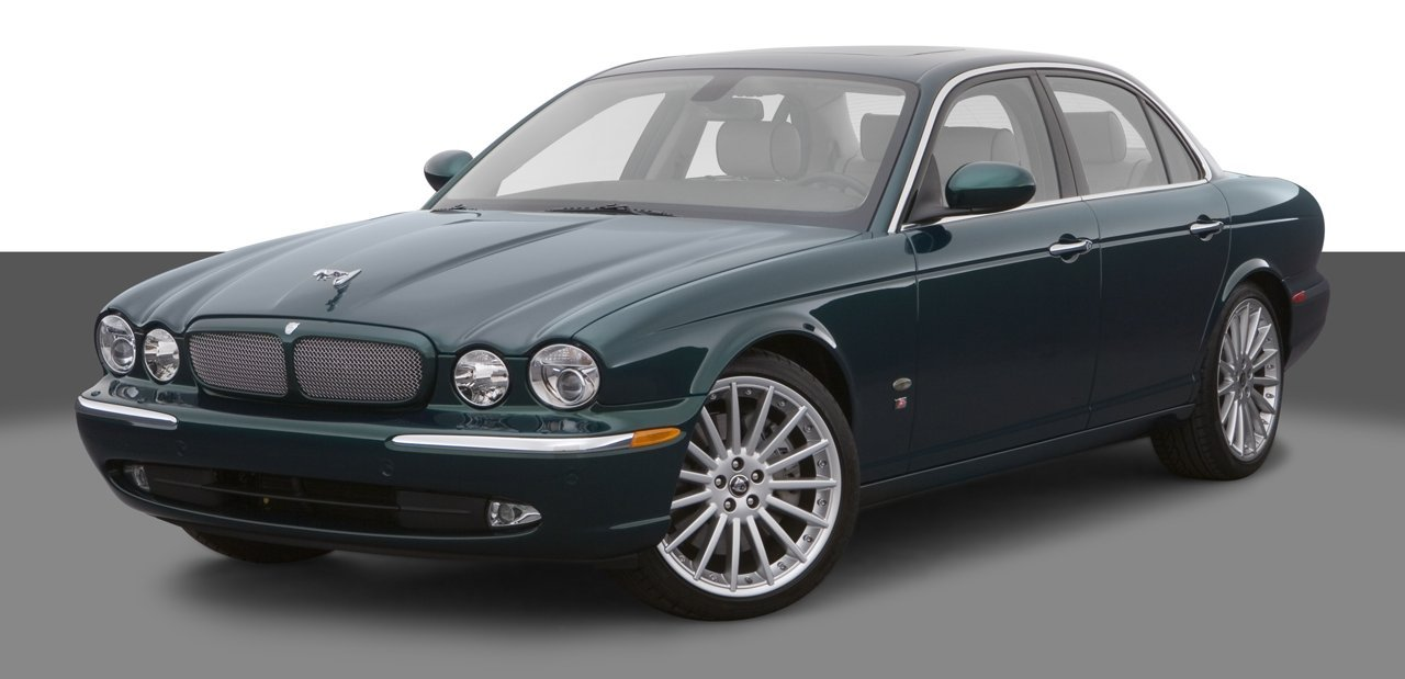 2007 jaguar xjr 4 door sedan