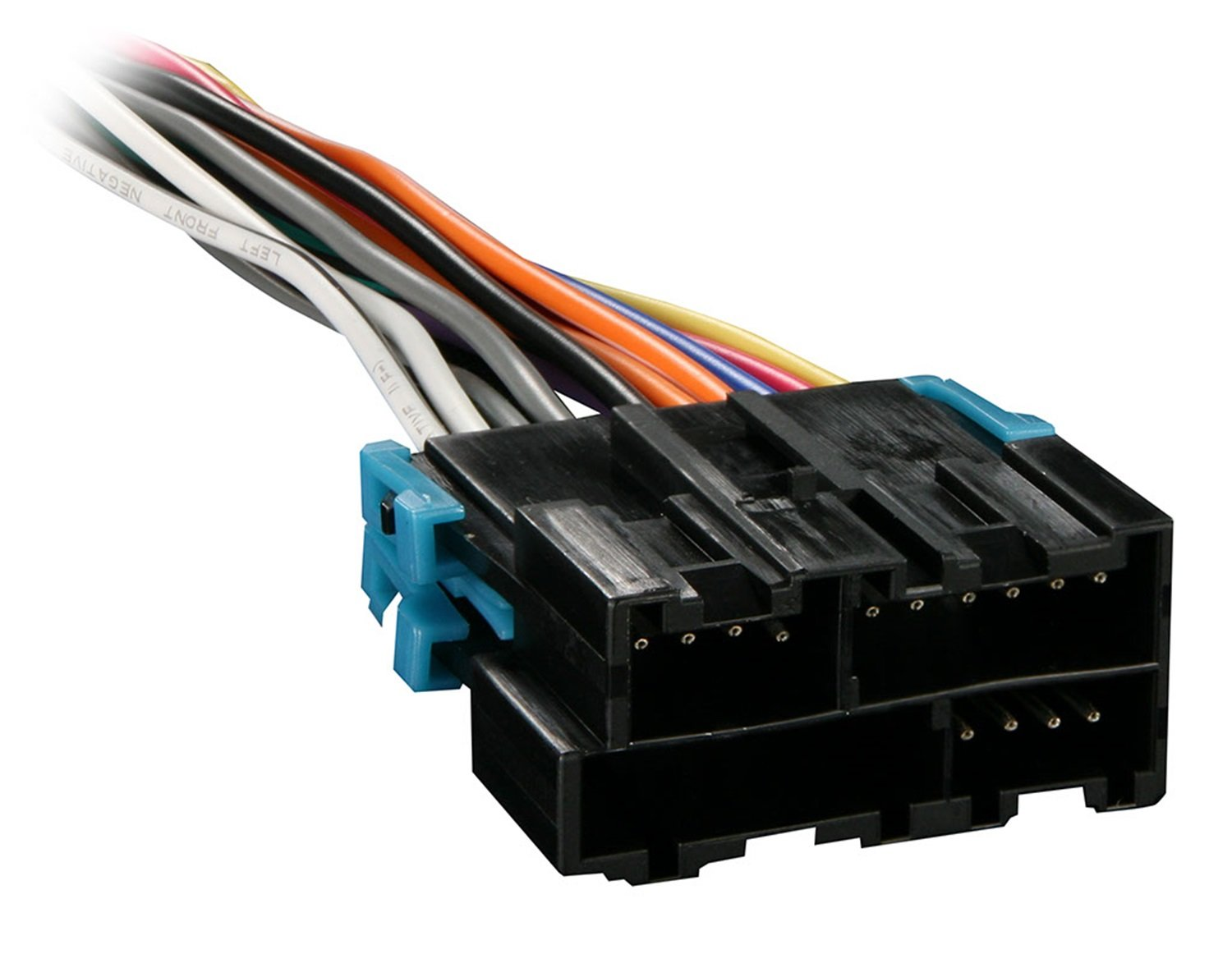 61 CwjZt1hL._SL1500_ radio wiring harnesses amazon com snap on wire harness adapter at fashall.co