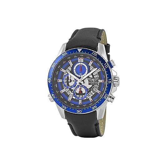 Aviator AVW2122G325 - Reloj de Pulsera para Hombre, Serie F: Amazon.es: Relojes
