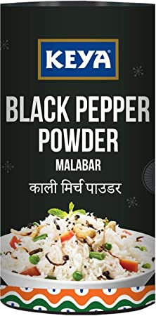Keya Malabar Black Pepper Powder, 100g