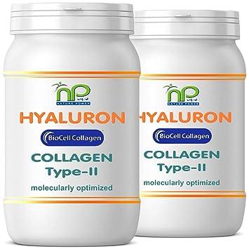 Biocell® 120 Collagen II de ácido hialurónico - cápsulas fórmula altamente concentradas 1000 mg/día - articulaciones pelo piel (2x60): Amazon.es: Salud y ...