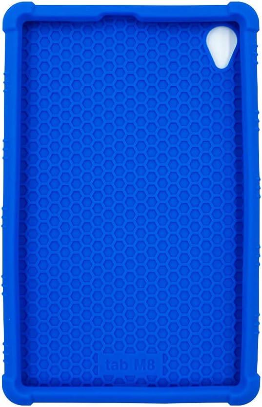 Soporte Suave Silicona Bolsa Ligero Caucho Protector Fundas Blandas para Lenovo Tab M8 FHD TB-8705 ORANXIN Funda para Lenovo M8FHD M8HD M8 HD TB-8505 Tablet 8 Pulgada 2019