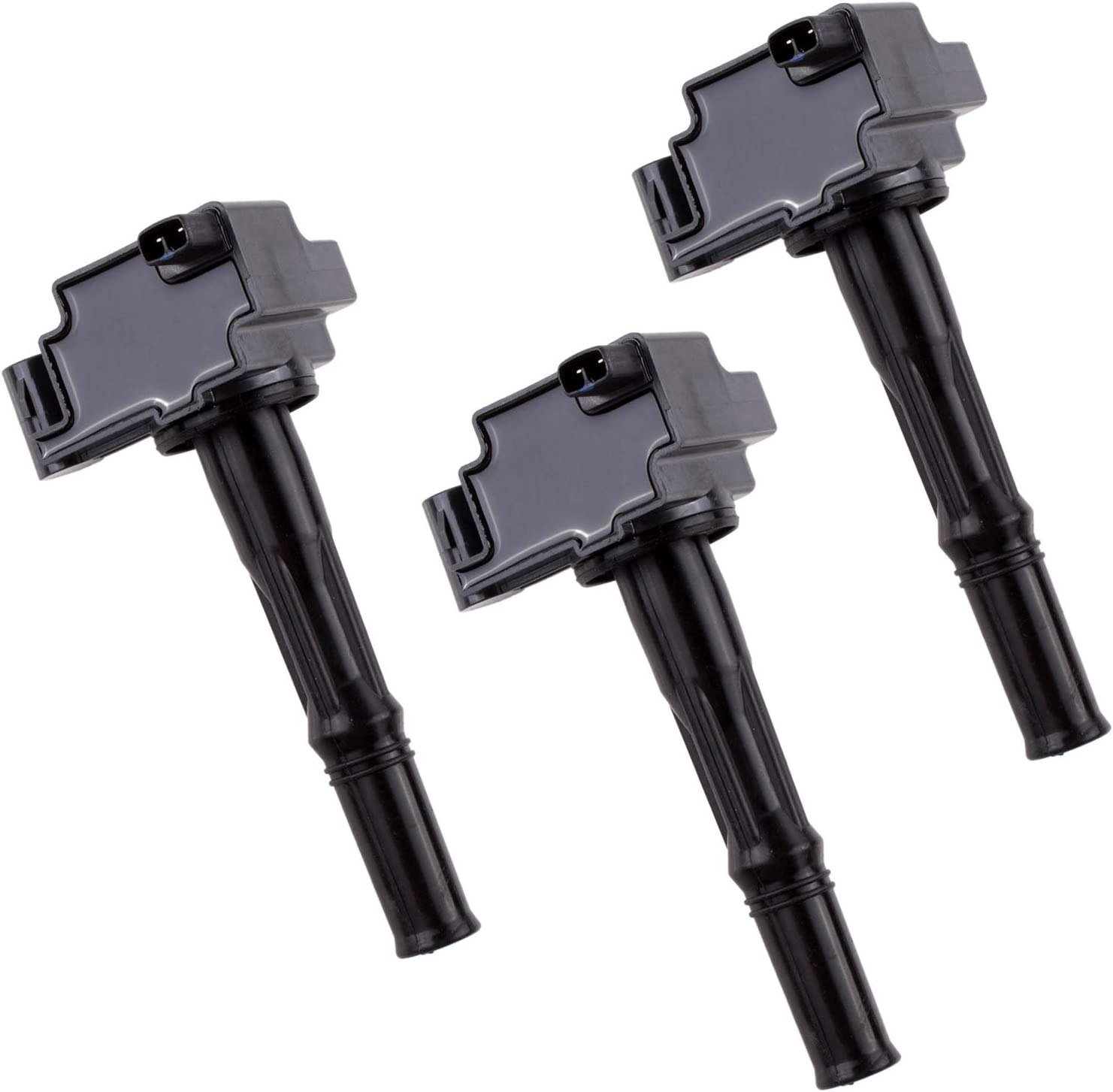 2000-2004 Toyota Tundra 1995-1998 Toyota T100 Set of 3 DWVO Ignition Coil Pack Fit for 1995-2004 Toyota Tacoma 1996-2002 Toyota 4Runner