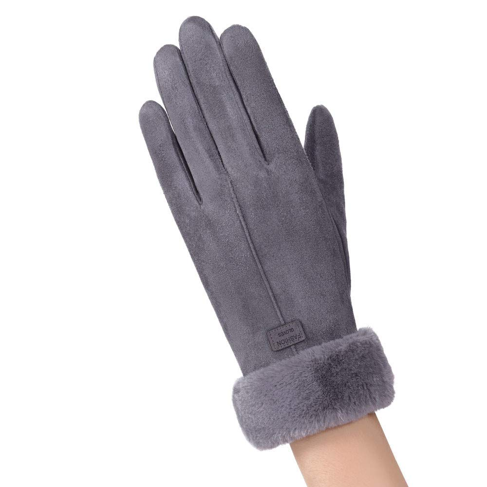 TUDUZ Damen Touchscreen Handschuhe Winter dicke warme gef/üttert smart schreiben Outdoor Handschuhe