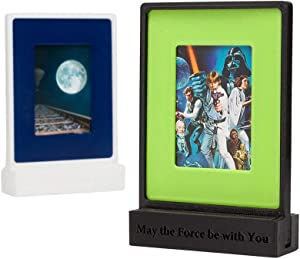 re,play404 Wallet Size Picture Frames 2x3 Picture Frame Mini Picture Frame | Small Picture Frame Instax Mini Frame Polaroid Picture Frame Desk Wall Decor | Mini Photo Frame Tiny Picture Frame StarWars