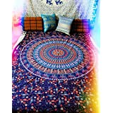 Twin camel mandala hippy Tapestry,bed sheets ,bed spread,hippy bed sheets,wall hangings,ethnic decor,home decor bed sheets,throw,picknic blankets,dorm tapestries By Montreal Tappesier