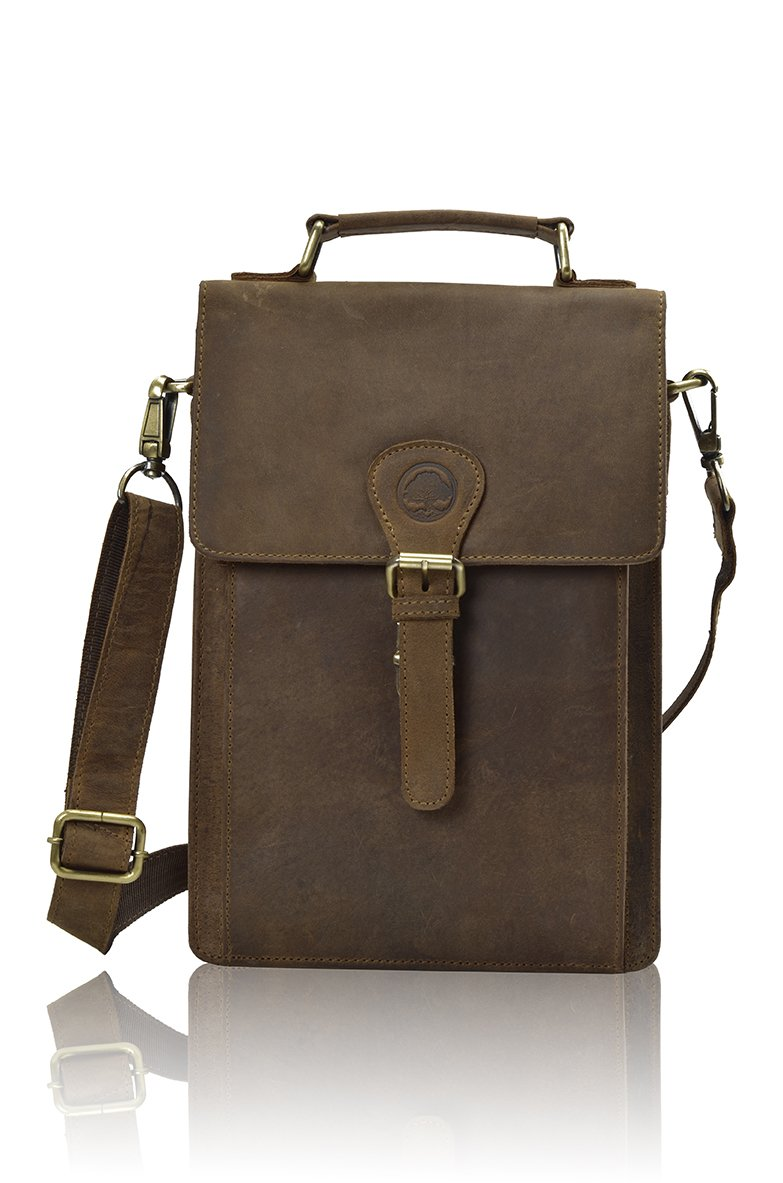 TONY'S BAGS Handmade Buffalo Genuine Leather Satchel, laptop Office bag Vintage Leather