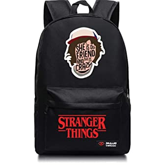 Stranger Things Lightweight Backpack Stranger Things Laptop Bag Back To School by Likeus