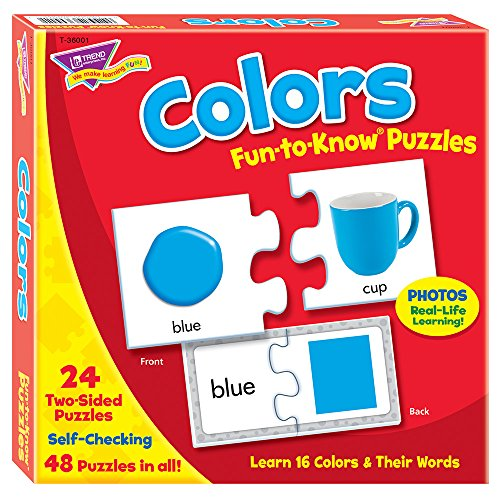 Fun-to-Know® Puzzles: Colors ()
