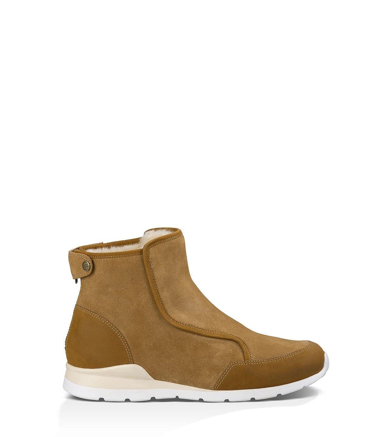 b50852f7240 UGG Women's Laurelle Black Leather Boot: Amazon.co.uk: Shoes & Bags