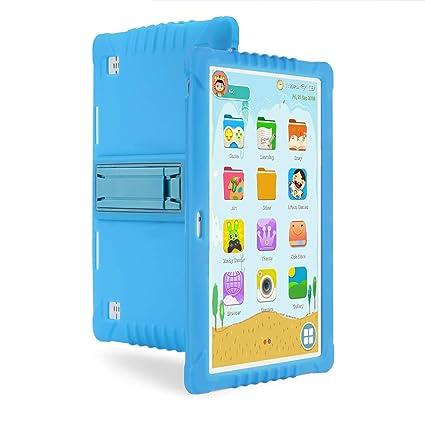 Tableta Para Niños,SANNUO 10.1 Pulgadas Tablet Infantil (Andorid 9.0 y Niños-modo Doble Sistema,Quad-Core,2GB RAM y 16GB ROM,3G,Wifi, Google Play, ...