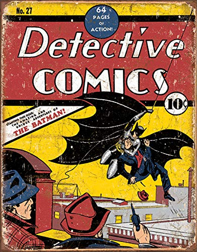 Desperate Enterprises Detective Comics No 27 Tin Sign, 12.5