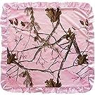 """Carstens Realtree AP Pink Baby Blanket, Pink, 34"""" x 34"""""""