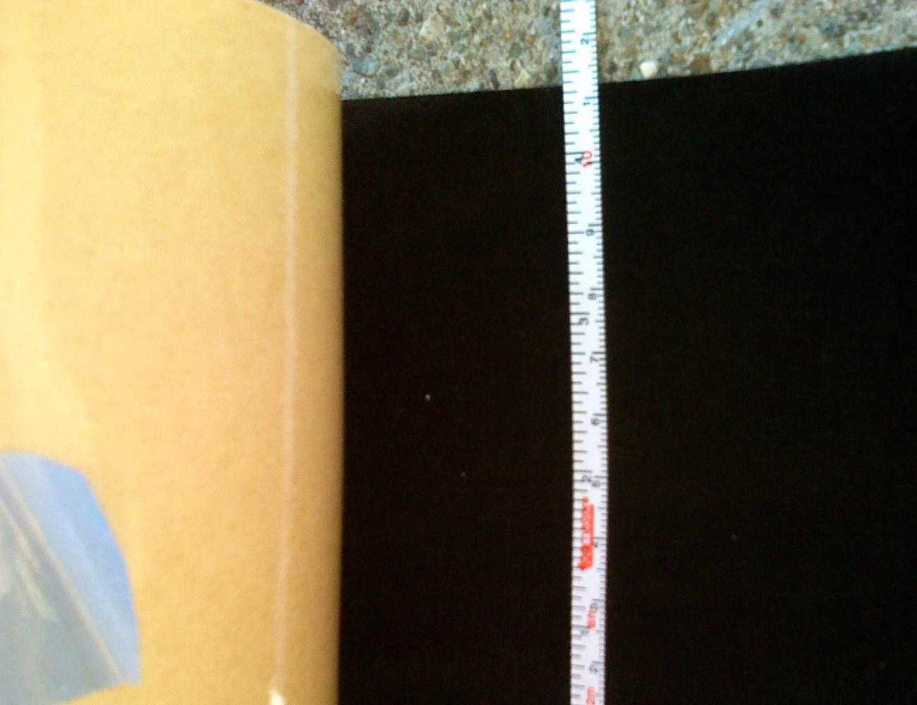 """4.5"""" wide Black Velvet Projection Screen Border Tape (make a border with this)"""