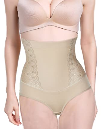 910c483be Invisable Body Shaper Hi-Waist Tummy Control Panties Slimming Butt Lifter  Shapewear at Amazon Women s Clothing store