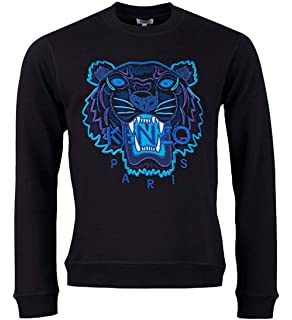 7c51bea2bac Kenzo Women s Pink Embroidered Icon Tiger Sweatshirt Jumper Top ...