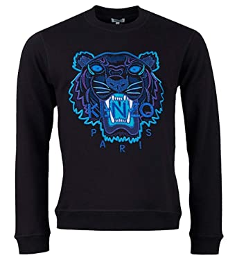 572e862c Kenzo Limited Edition Icon Tiger 'Holiday Capsule' Black Sweatshirt ...