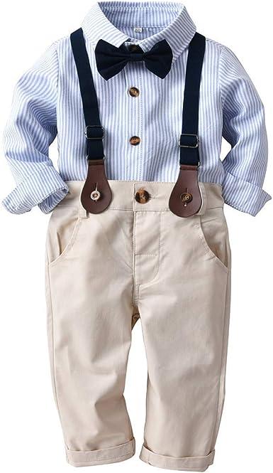 Carolilly Conjunto Traje para Bebé Suit de 3 Piezas para Niños ...
