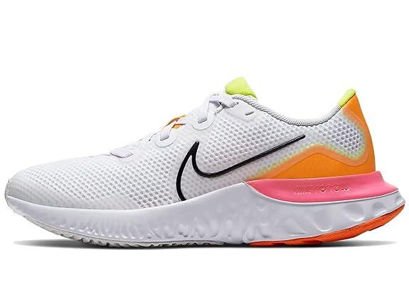 Nike Renew Run (GS), Zapatillas para Correr Unisex niños, White Black Platinum Tint Pink, 40 EU: Amazon.es: Zapatos y complementos