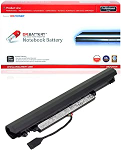 DR. BATTERY L15S3A02 L15C3A03 Battery Compatible with Lenovo IdeaPad 110-14IBR 110-15ACL 110-15AST 110-15IBR 110-15ACL 110-15ISK 5B10L04166 5B10L04215[10.8V/2200mAh/24Wh]