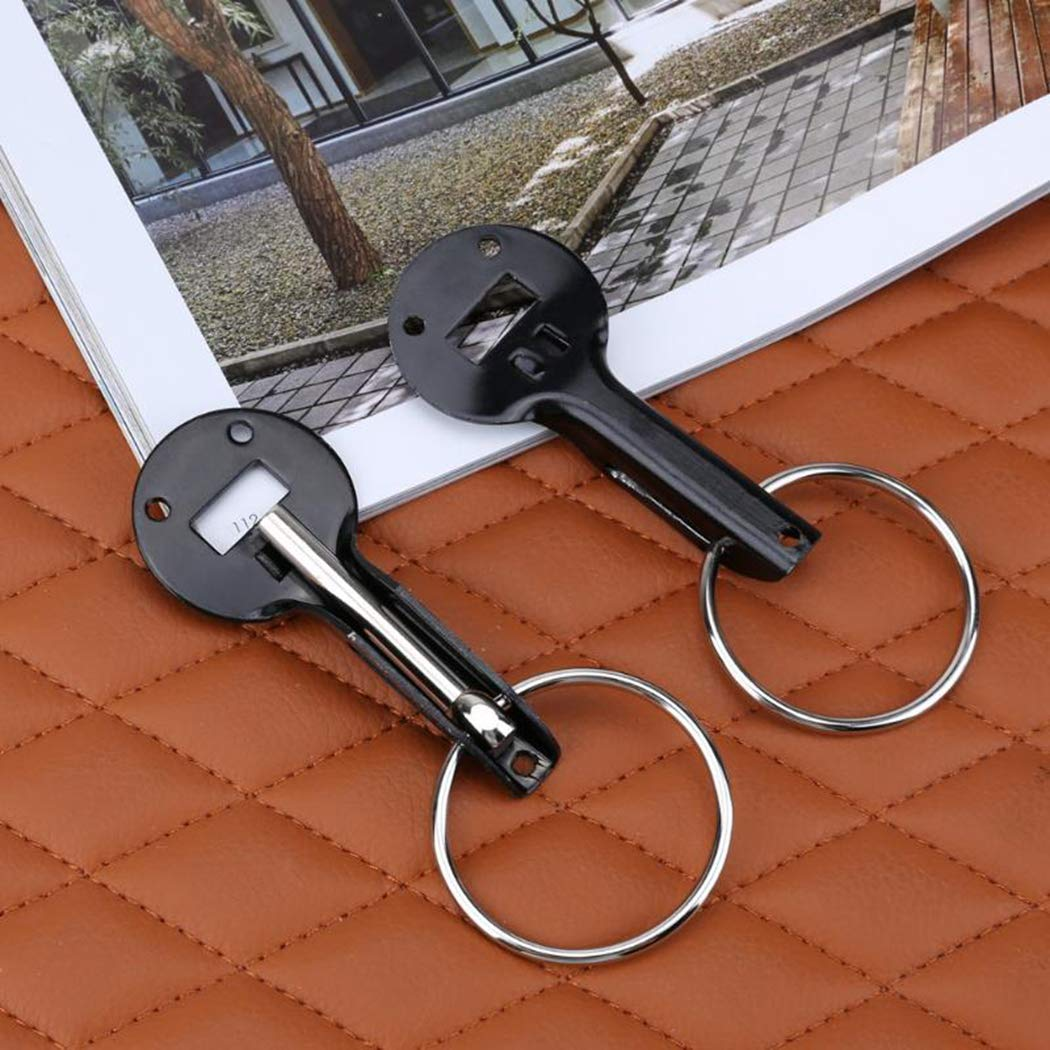 Fansport 2PCS Hood Pins Chiusure A Scatto in Acciaio Inox Chiusure A Scatto con Accessori per LInstallazione